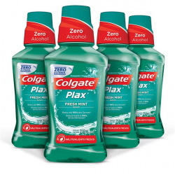 Enxaguante Bucal Colgate Plax Fresh Mint 250ml Promo Leve 4 Pague 3